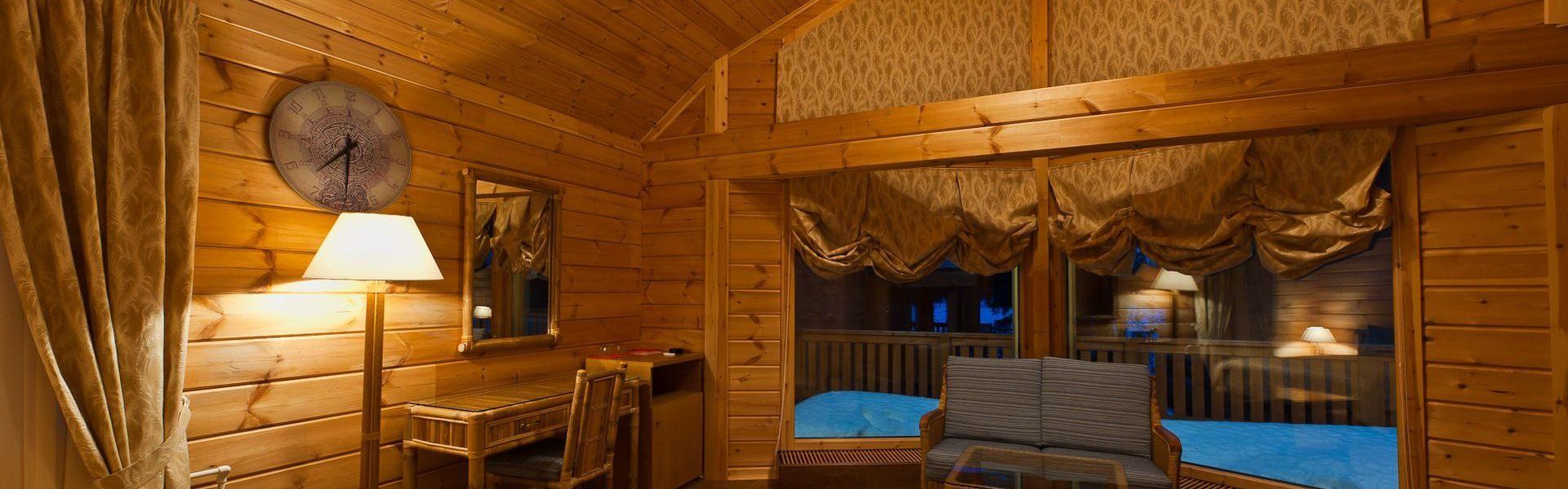 Проживание в пятизвездочном отеле вдали от цивилизации
