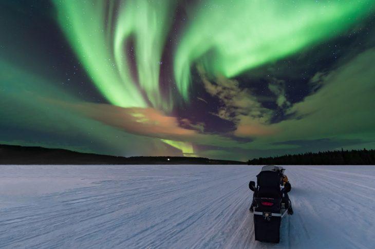 «Охота за северным сиянием» — средний, до 3 часов, 40 км. БО «Лесная»