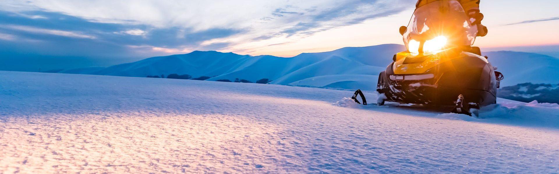 Снегоходные туры для новичков и любителей рыбалки