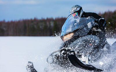«Знакомство со снегоходом» — легкий, до 2 часов, 10 км. БО «Лесная»