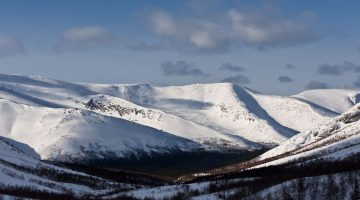 «Вершины Хибинских гор» — сложный, 1 день, 100 км. БО «Зашеек»