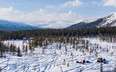 «Ловозерские горы» — сложный, 1 день, 120 км. БО «Зашеек»