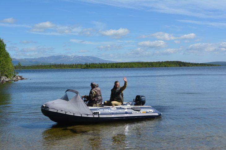 Рыбалка на оз. Имандра, 5-8 часов. БО «Лесная»