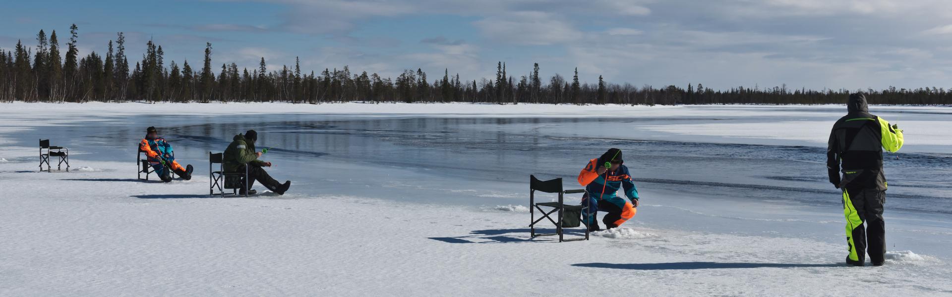 Зимние рыболовные туры на 2021-2022